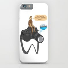 The photographer iPhone & iPod Case