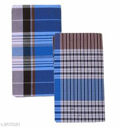 Dhotis, Mundus & Lungis Men's Cotton Lungis (Pack Of 2) Fabric: Cotton Size: 2.25 Mtr Description: It Has 2 Pieces Of Men's Lungis Pattern: Checkered  Sizes Available: Free Size *Proof of Safe Delivery! Click to know on Safety Standards of Delivery Partners- https://ltl.sh/y_nZrAV3  Catalog Rating: ★4.1 (864)  Catalog Name: Trendy Men's Cotton Lungis Combo Vol 4 CatalogID_353285 C66-SC1204 Code: 403-2615081-