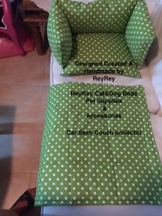 Couch Protector, Dog Beds, Pet Supplies, Car Seats, Cats, Handmade, Diy, Design, Gatos