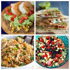 Simple Summer Meal Ideas - I've got so much to do during the summer I need simple meals that come together in a hurry, but are still healthy. This is a great list to start with