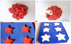 Patriotic Chocolate Stars for goodie bags