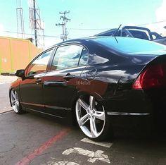 Honda Civic Vtec, Custom Wheels And Tires, Japan, Vehicles, Top, Instagram, Dream Garage, Luxury Vehicle, Dream Cars