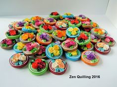 Decorations and gifts for the guests at my son's wedding / May 2016 Quilling Tutorial, Quilling Craft, Quilling Ideas, Paper Quilling, Tapas, Book Marks, Quilling Techniques, Paper Crafts Origami, Rakhi