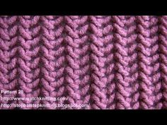 getlinkyoutube.com-(Herringbone Stitch) - Free Knitting Patterns - Stitch 20