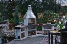Rohová sestava Avanta exclusiv / Gardenfireplace , Gartengrillkamin /