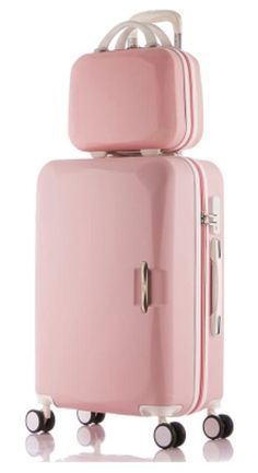 10 best spring handbags women or girl Boarding rolling luggage bags set or trolley suitcase + portable suitcase-in Luggage Sets from Luggage & Bags on Carry On Suitcase, Carry On Luggage, Luggage Sets, Travel Luggage, Travel Backpack, Pink Suitcase, Travel Packing, Cute Suitcases, Girls Suitcases