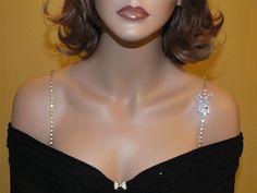Sexy Play Boy Bra Straps for Strapless Dresses-Item # 1019 - Rhinestone