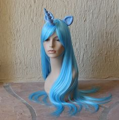Trixie costume cosplay wig   My Little Pony costume  / by GimmCat, $115.00