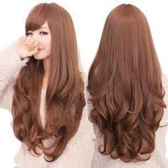 light brown hair korean - Google Search