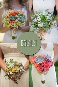 Succulent Wedding Ideas, Alpine plants for Floral Wedding Decor