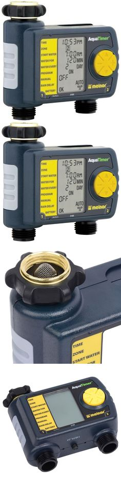 Watering Timers and Controllers 75672: Automatic System 2-Outlet Hose Timer Water Gardern Faucet Sprinkler Digital -> BUY IT NOW ONLY: $51.1 on eBay!