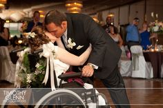 Wheelchair wedding. >>> See it. Believe it. Do it. Watch thousands of SCI videos at SPINALpedia.com