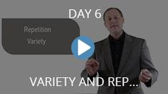 Day Six - Variety and Repetition are Keys to English Fluency - Deep English