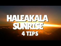 4 Tips For Viewing The Haleakala Sunrise | Video