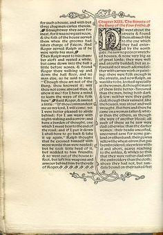 UnosTiposDuros > Historia > Las ediciones de la Kelmscott Press