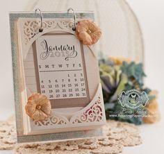 Swirl Bliss Calendar