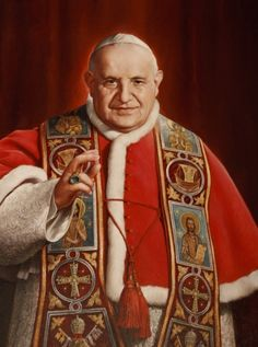 A painting of Blessed John XXIII, the pope who convened the Second Vatican Council, is seen in the museum dedicated to him in his birthplace of Sotto il Monte Giovanni XXIII, Italy. Pope Francis has ask the world's cardinals to vote on the canonization of Blessed John XXIII, even in the absence of a miracle. The announcement came July 5 with Pope Francis' decree that cleared the way for the canonization of Blessed John Paul II, the late Polish pontiff. (CNS file photo/Paul Haring)