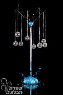 Balloons Centerpiece for table events- shendalir . עיצוב בלונים בסגנון שנדליר למרכז שולחן באירועים http://www.shozeret.co.il/gallery/tablecenter