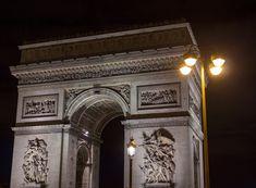 The Arc de Triomphe, Paris, France George Washington Bridge, Paris France, Photography, Travel, Photograph, Viajes, Fotografie, Photoshoot, Destinations