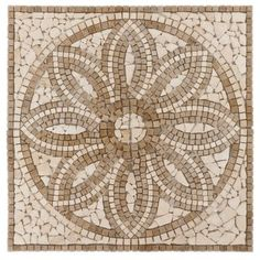 <p>This Florentine Travertine Medallion is a 36in. x 36in. square medallion with a beautiful light beige color and tumbled finish.</p><p>This square medallion easily creates a symmetrical look.</p><p>This tumbled medallion will enhance the look of any area.</p><p>Our beautiful decorative medallions will give any room an artistic flair. Use on walls, floors, fireplace surrounds or other areas for a stylish addition to your home. Our exquisite medallions will bring artistry into your h...