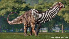 "jwe photos and videos 🦖 on Instagram: ""The Seismosaurus (mod) Jurassic World Evolution: #seismosaurus #tyrannosaurusrex #indominusrex #spinosaurus #reptiles #dinossauro #dinoart…"" Indominus Rex, Tyrannosaurus Rex, Jurassic World, Jurassic Park, Spinosaurus, Reptiles, Evolution, Photo And Video, Instagram"