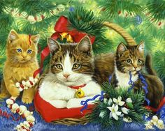 Image result for cat paintings