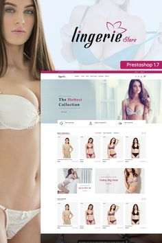 Lingerie Prestashop Store Theme is specially designed for lingeries and lifestyle stores. Lingerie Store is rich with powerful user-friendly features that would attract more clients to your online store and boost sales! Ecommerce Template, Website Design Layout, Web Design Inspiration, Design Trends, Website Themes, Photoshop, Flower Food, Lingerie, Templates