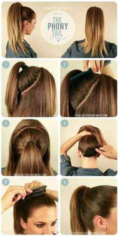 27 Tips And Tricks To Get The Perfect Ponytail 27 Tips And Tricks To Get The Perfect Ponytail,Frisuren Related Best Hairstyles with Braids You Can Wear any Time braided hairstyles for long hairVisit. High Ponytail Hairstyles, High Ponytails, Braided Hairstyles, Ponytail Hairstyles Tutorial, Hairstyle Tutorials, Easy Hairstyle, Easy Work Hairstyles, Nurse Hairstyles, Easy Everyday Hairstyles
