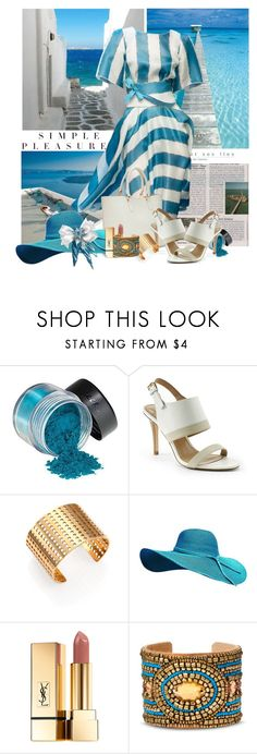 """""""Simple Pleasures"""" by flowerchild805 ❤ liked on Polyvore featuring Lands' End, Kelly Wearstler, Yves Saint Laurent and Natasha Accessories"""