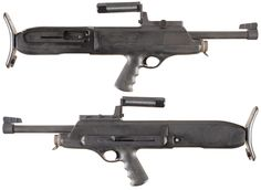 A blast from the 60's: HS Model 10B Semi-Automatic Police Shotgun. - (source)