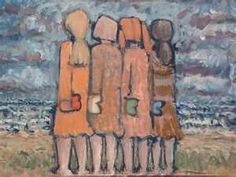 four sisters- Connie, Dondi, Lisa and I (Sylvia)