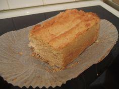 Lemon cous cous cake