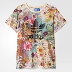 156590a88bbfb Camiseta Confete Trefoil Farm - Multicores adidas | adidas Brasil Nike  Floral, Adidas Farm,
