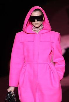 Marc Jacobs Pink Poncho