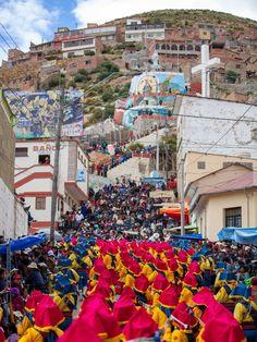 In pictures: Bolivia's colourful Oruro carnival - BBC News