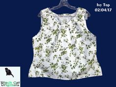 A Light Summer Top I Made Because Legally and For the Greater Good I Have To Wear Clothes! You can also read more about it on my [blog](http://bit.ly/2uOSMXu). Finished Object. [Lutterloh Model 57 year 2004) #sewing #crafts #handmade #quilting #fabric #vintage #DIY #craft #knitting