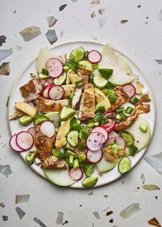 Crisp and Crunchy Chicken Salad