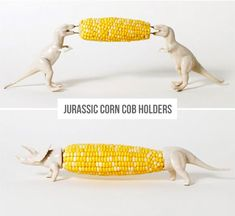Jurassic Corn Cob Holders, #Corn