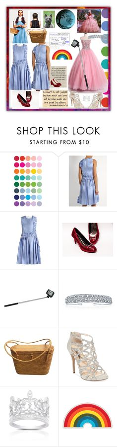 """Modern Day Wizard of Oz🌈"" by snowflakeunique ❤ liked on Polyvore featuring MSGM, Polaroid, Bling Jewelry, INC International Concepts, Ultimate, Finesque, Anya Hindmarch and modern"