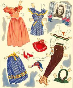 June Allyson 1950 Whitman book - Bobe Green - Picasa Web Albums