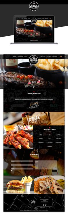 Black Pepper | SteakHouse on Behance