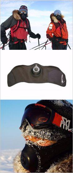 ColdAvenger Pro Softshell Face Mask - Subzero Warm Breath Mask Survival Gear
