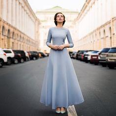 Preppy Dresses, Modest Bridesmaid Dresses, Modest Dresses, Fall Dresses, Simple Dresses, Casual Dresses, Formal Dresses, Modesty Fashion, Hijab Fashion
