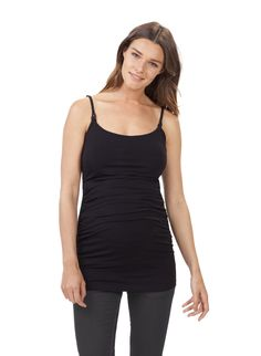 c44bc916315 Cami Nursing Top in Black at Isabella Oliver. Shop our luxury collection  today for stylish