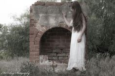 """""""Lost and Forgotten."""" A self portrait by Mel Quinn Shipard.  Copyrighted 2014 by Mel Amy Photography."""