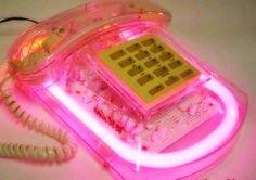 Neon phone? Um, YES!