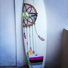the hippie surfboard