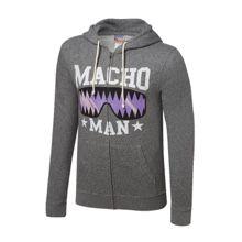 """Macho Man """"Oooh Yeah"""" Full-Zip Hoodie Sweatshirt"""