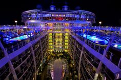Oasis of the Seas Late at Night | Flickr - Photo Sharing!