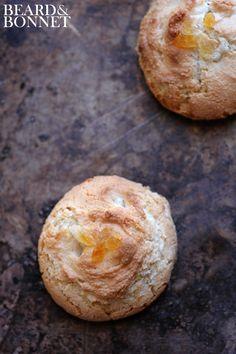 Chewy Ginger Amaretti Cookies  {Beard and Bonnet} #glutenfree #dairyfree #projectlunchbox